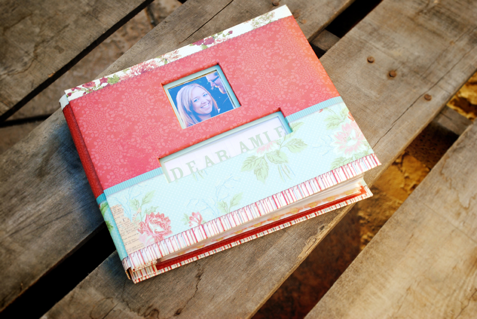 A Gift from the Bridesmaids and Maid/Matron of Honor, A Scrapbook of Letters for the Bride